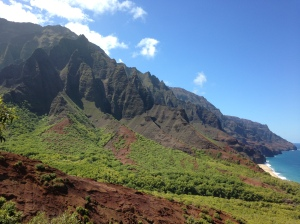 Kalalau Valley from Red Hill