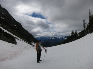 On top of Park Creek Pass
