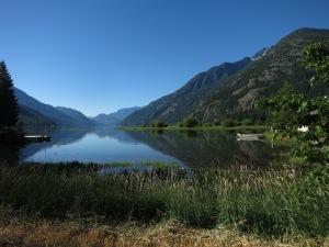 Stehekin is an adorable town on Lake Chelan