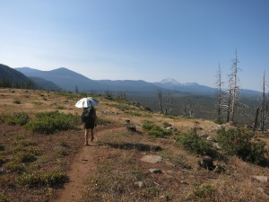 Walking to Lassen