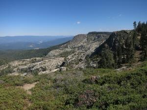 Cliffs of Bucks Lake Wilderness
