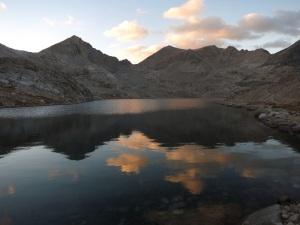 Sunset in the Sierra