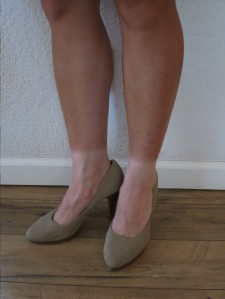 Sock tan!