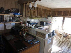 The Saufley's trailer was an amazing spot to hang out!