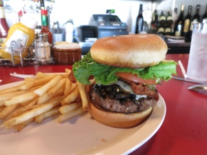 Huge burger!