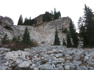 The Marble rocks