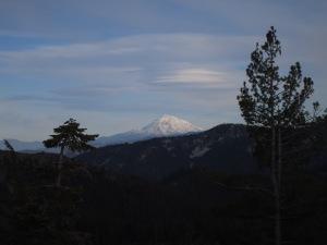 Lenticular Clouds over Mt Shasta