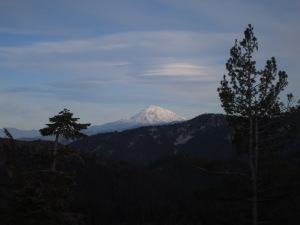 Lenticular Clouds over Mt Shasta