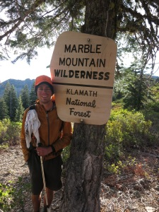 Marble Mountain Wilderness cold and wild
