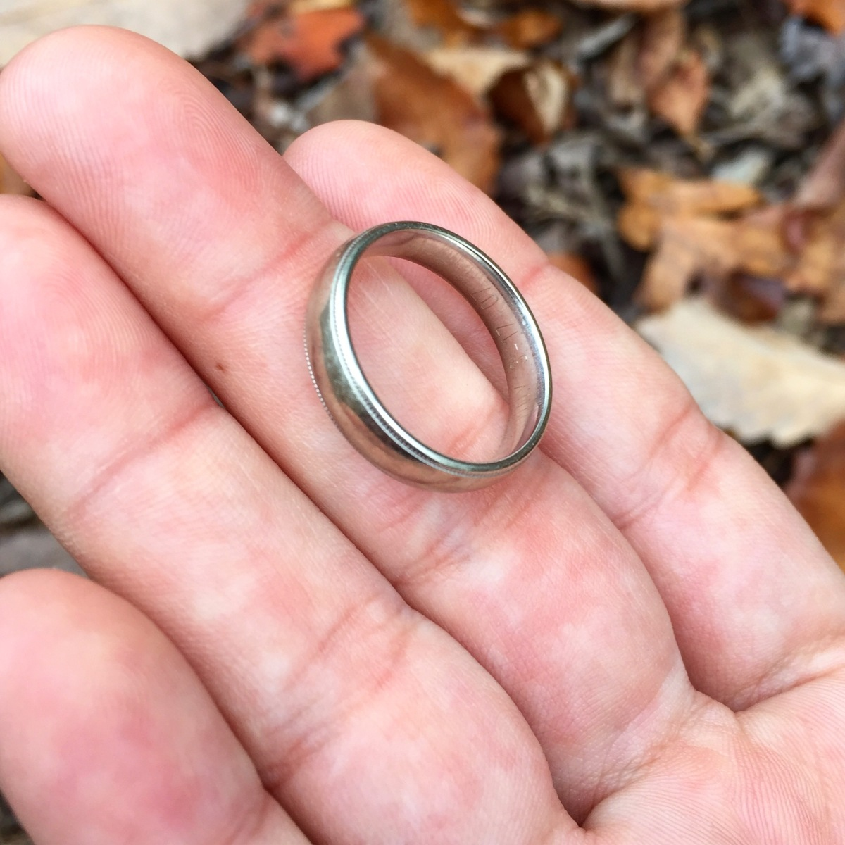 Wedding ring owners found! | Just Two Hikers